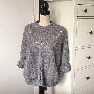 Grey Cozy Comfy Sweater by Ecote